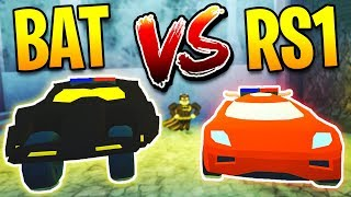 BATMOBILE VS TORPEDO SPEED TEST! New FASTEST CAR in Jailbreak!? | Roblox Jailbreak New Winter Update