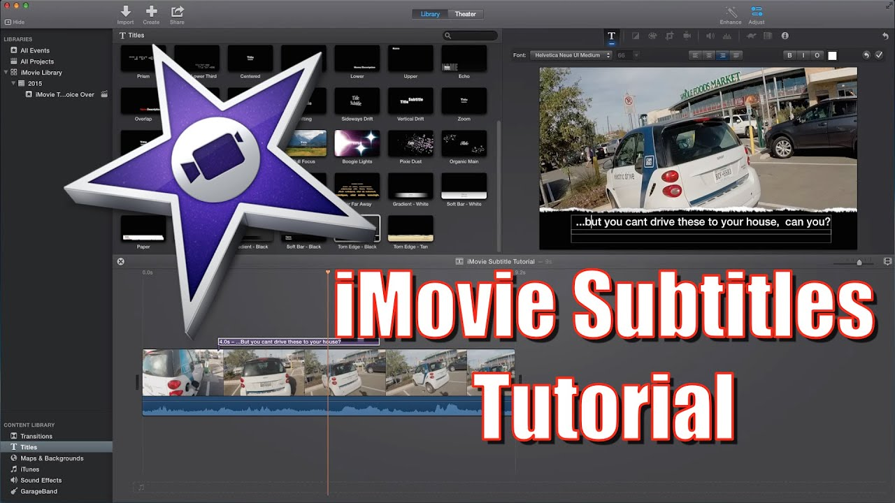 How to do subtitles in imovie imovie subtitle tutorial 2015 how to do subtitles in imovie imovie subtitle tutorial 2015 ccuart