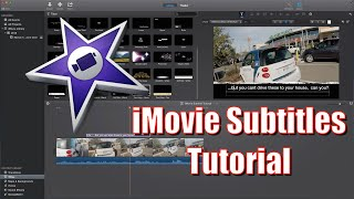 How to do Subtitles in iMovie | iMovie Subtitle Tutorial 2015(This is a tutorial for Apple's iMovie, that shows you how to add subtitles to your videos. It's very easy to add the subtitles, but doing subtitles can be a long ..., 2015-01-10T05:31:51.000Z)