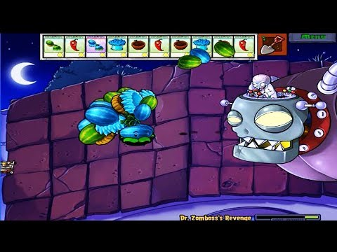 Thumbnail: 999 MELON PULT VS DR.ZOMBOSS PLANTS VS ZOMBIES