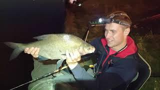 КРУПНЫЙ ЛЕЩ Ночная рыбалка 2020