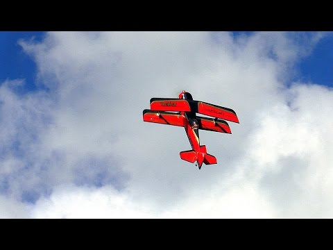 E-flite, Beast 60e (Pitts Model 12) Sighting in Glencoe, Minnesota - Aug. 6th, 2016