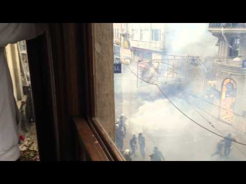 Aftermath of Police Ambush on Fleeing Protesters, Istanbul (May 31, 2014)