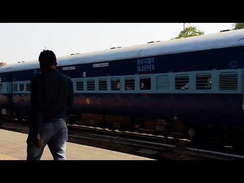 Jaipur- Allahabad SF Express WDM 3A Departure Jaipur Junction