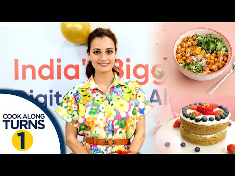 Healthy Recipes By Dia Mirza | Buddha Bowl & Vegan Fruit Cake Recipe | Easy Vegan Recipes In Hindi
