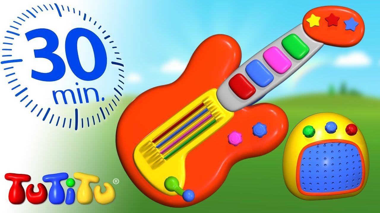 Tutitu Compilation Guitar Best Kids Toys Youtube