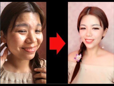 vịt-hóa-thiên-nga---Đỉnh-cao-của-makeup---makeup-challenge---makeup-art-#4