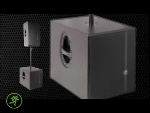 Mackie HD Series High-Definition Powered Loudspeakers - NAMM TV