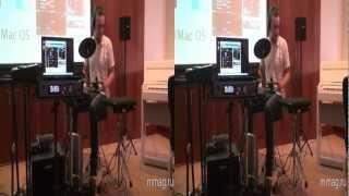 mmag.ru: Roland V-Drums 2012 3D video presentation