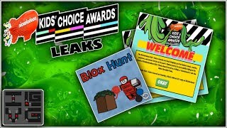 Roblox Leaks | Blox Hunt KCA18 Splashes