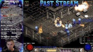 Diablo 2 - Farming the Mausoleum fire sorc with the Full tals set 12/12/2018