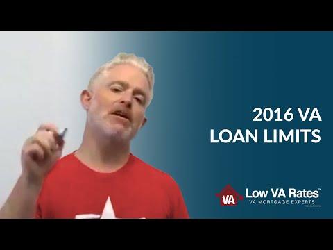 2016 VA Loan Limits