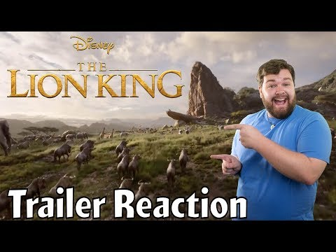 Live Action Lion King Trailer Reaction