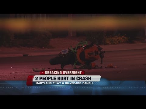2 people hurt in motorcycle crash