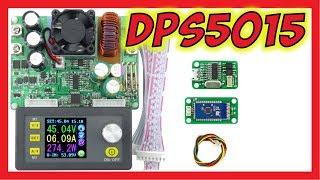 🔴 Программируемый блок управления питанием DPS5015 50В/15А 750Вт