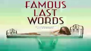 Famous Last Words Audiobooks by Katie Alender