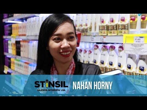 STINSIL: Cara Nahan Horny
