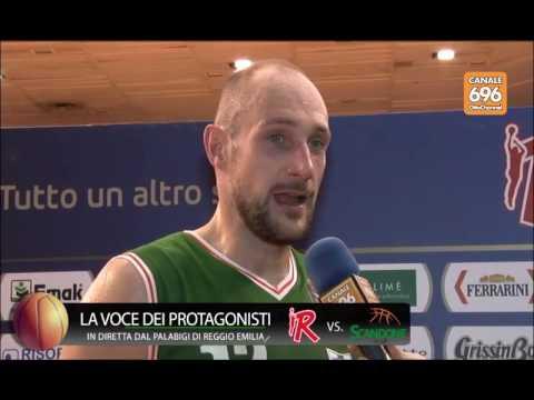 Grissin Bon Reggio Emilia - Sidigas Avellino 79-80: il post-partita