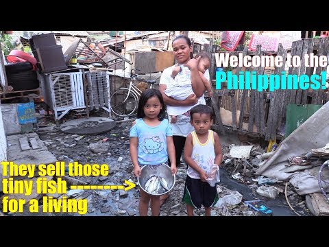 Travel to Manila Philippines and Meet this Poor Family. The
