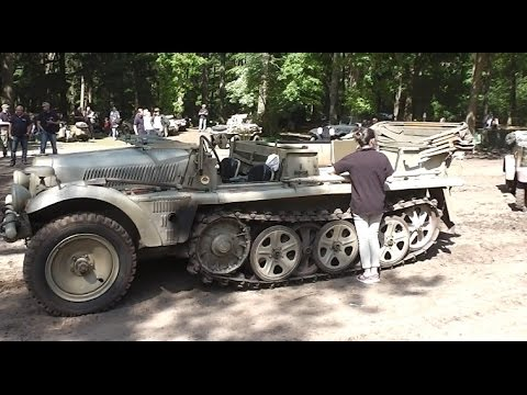 Old Army Cars
