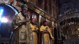 Божественная Литургия в Троице-Сергиевой лавре.(, 2014-09-26T20:36:36.000Z)