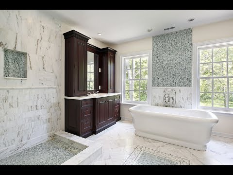 Large Marble Tiles for Bathroom Ideas UK