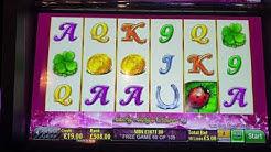 Lucky lady 6 slot bonus £5 a spin winner LOADS OF RETRIGGERS  ***BIG WIN***