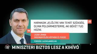 Miniszteri biztos lesz Márki-Zay Péter kihívója 19-07-08