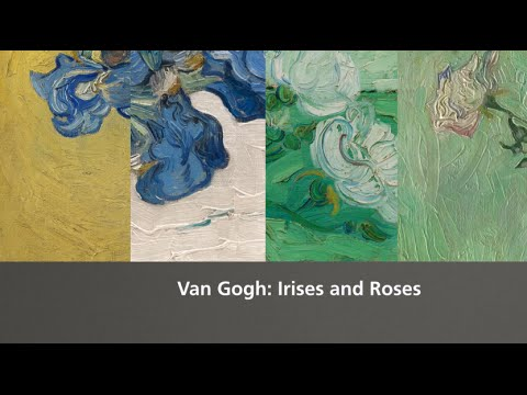 Van Gogh Irises And Roses