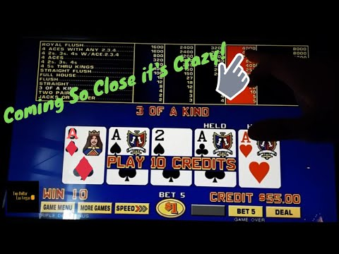 Triple Double Bonus Poker - .50$ Game King - 2.50$ A Spin - Let's Go!
