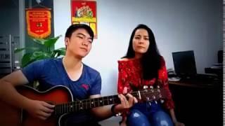 Thì thầm mùa xuân guitar cover Kiều Lê