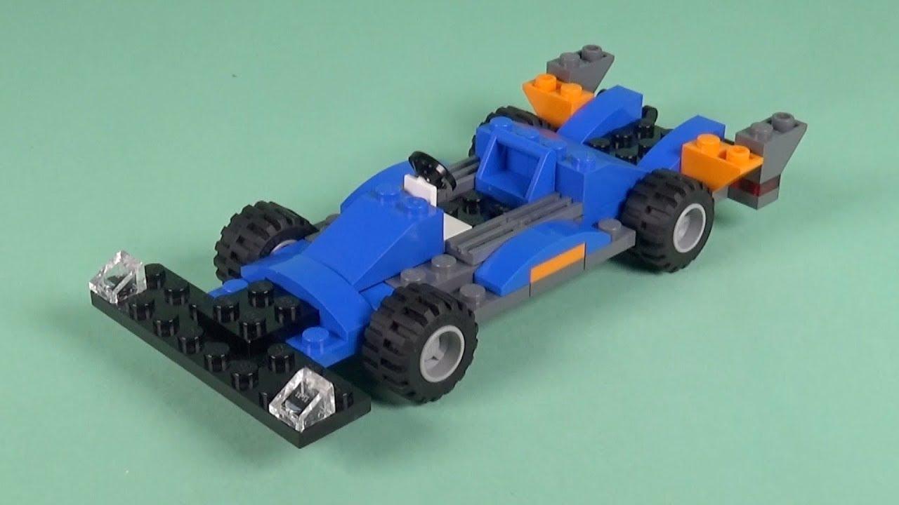 LEGO Race Car (009) Building Instructions - LEGO Bricks How To Build - DIY