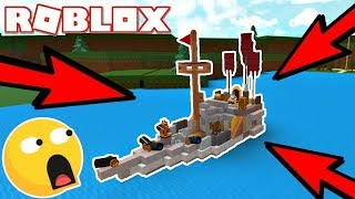 BUILDS BOTH!! -Boat Simulator #1 (Dansk Roblox)