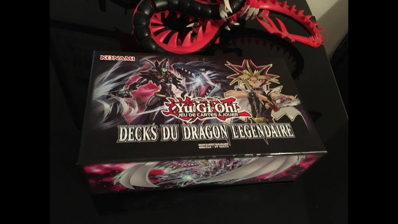 Decks Du Dragon Légendaire! Yu-gi-oh