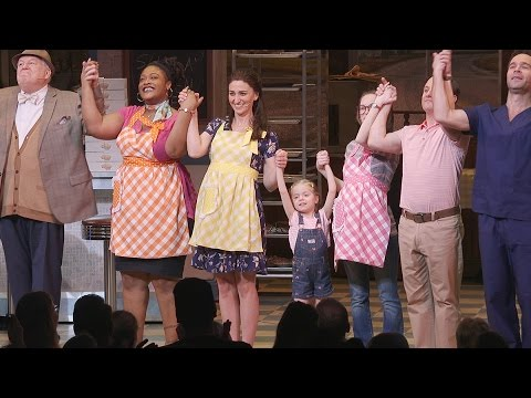 Sara Bareilles Takes Her First Curtain Call in Waitress on Broadway