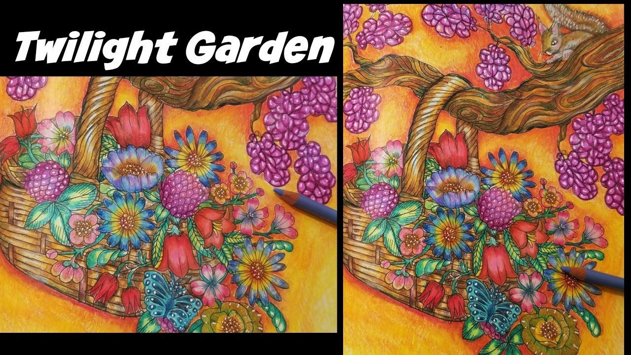 Gardens By Maria: Flower Basket / Twilight Garden By Maria Trolle
