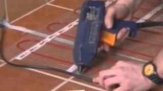 Укладка нагревательного мата для обогрева полов(, 2013-01-19T16:11:31.000Z)