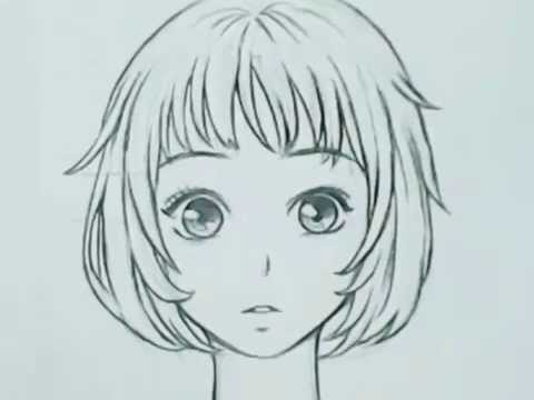 วาดรูป การ์ตูน ญี่ปุ่น สาวตาโต (สรุปขั้นตอน)