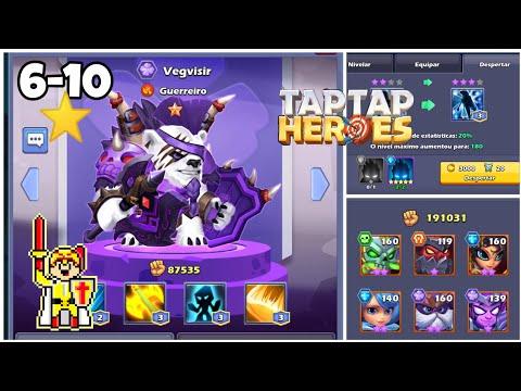 Taptap Heroes - Como Conseguir Heróis De 8 Estrelas?