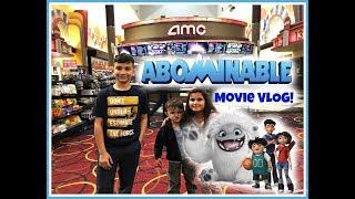 ABOMINABLE Movie Vlog! (2019) Everest the Yeti! Barnes & Noble Toy Hunt!