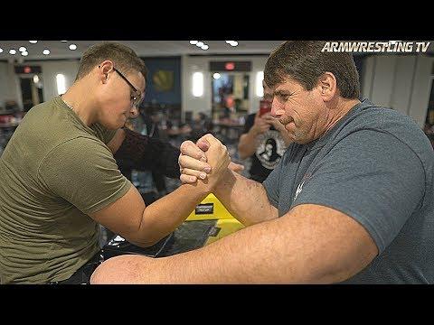 Schoolboy VS Popeye Arm Wrestling 2018