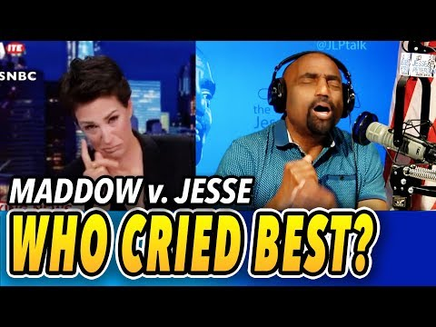 Who Cried Best On TV? Rachel Maddow Or Jesse Peterson? Illegal Children Separated From Adults