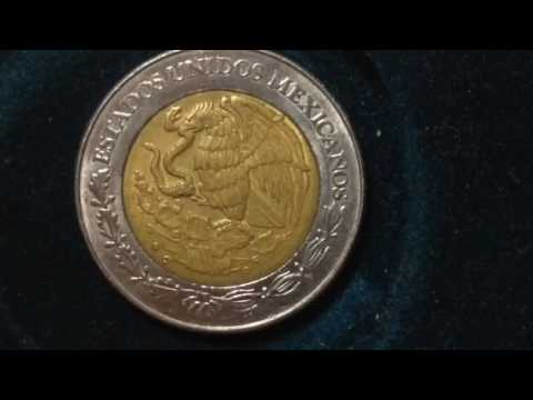 Two Pesos- Mexico Coin- Dated 1998