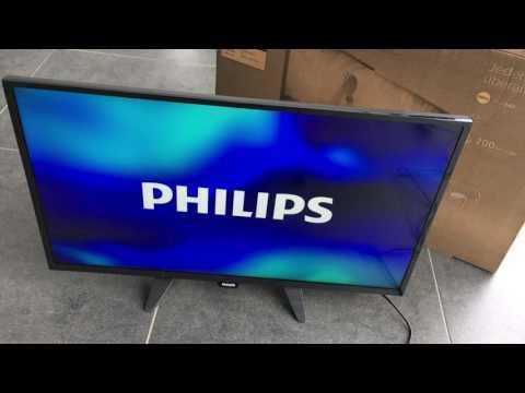 Philips 32PFK4101 unboxing