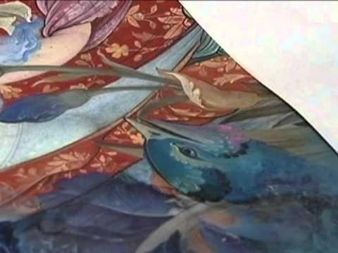 ورشة فن الزخرفة للفنان المزخرف ( رضا أغاميري )