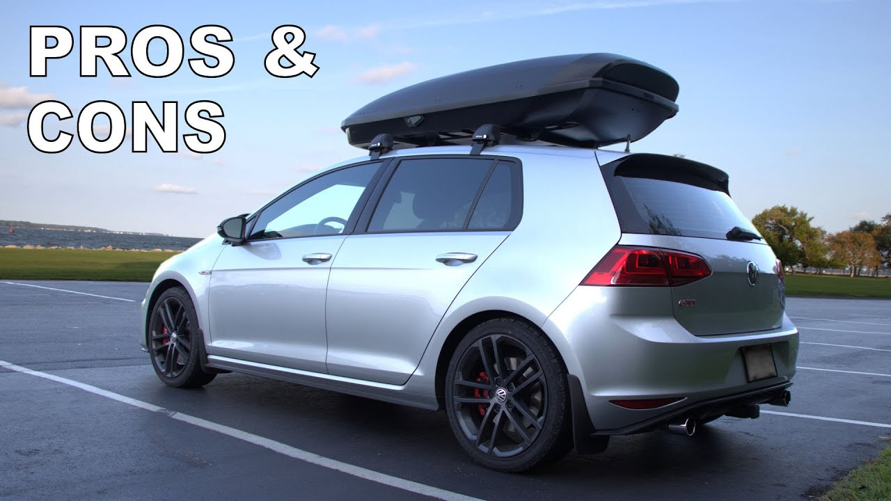 Rooftop Cargo Box Pros And Cons Gti Ep10c Youtube