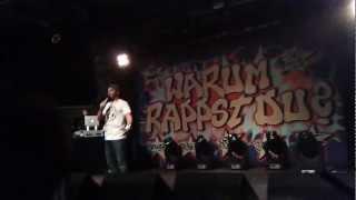 Warum rappst du? X-Mas Tour Saarbrücken Garage live Montez feat. KaynBock