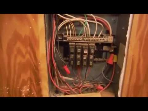 Dangerous Electrical Panel