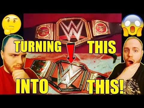 TURNING THE WWE WORLD HEAVYWEIGHT CHAMPIONSHIP INTO THE WWE UNIVERSAL TITLE! CUSTOM CHAMPIONSHIP!