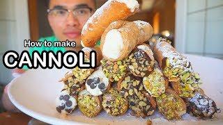 How to make CANNOLI'S